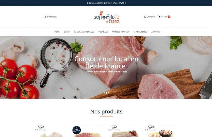 site-internet-gourmandile-de-france