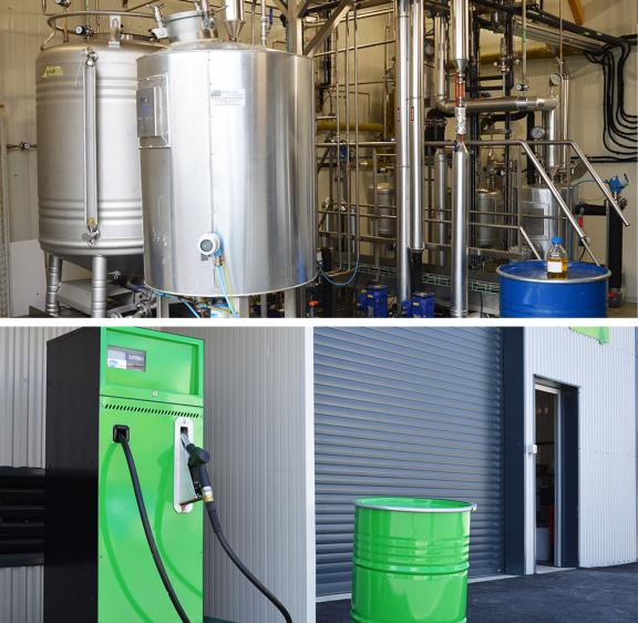 Cooperl environnement, innovation biocarburant